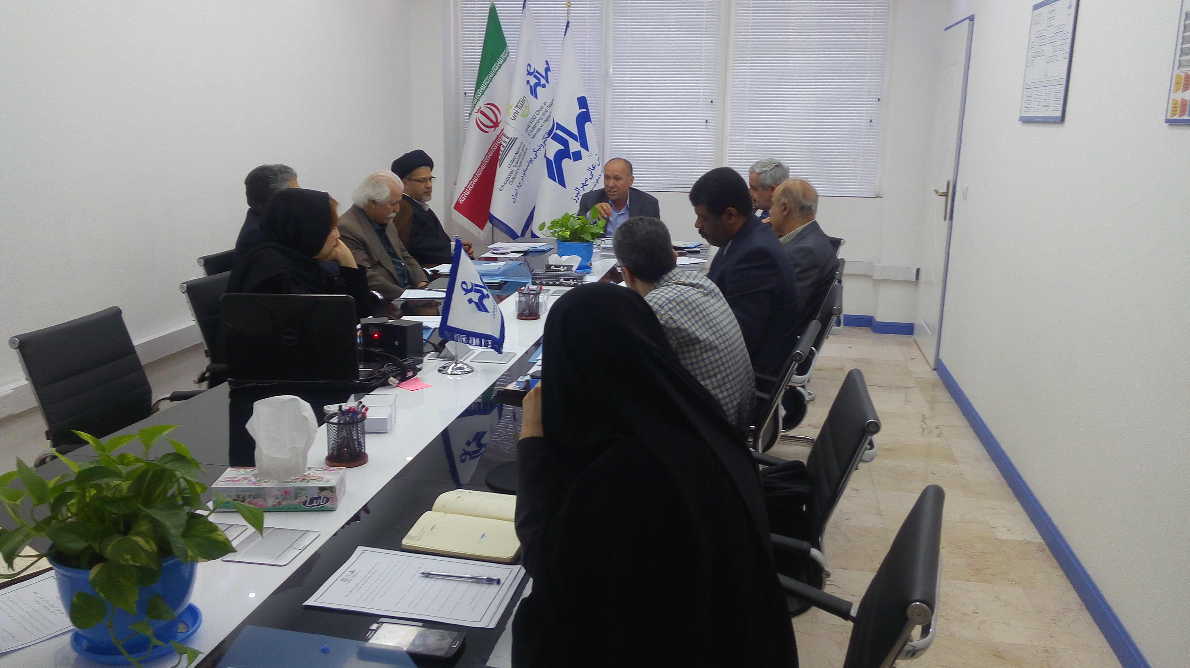 دومین جلسه شورای راهبردی کرسی